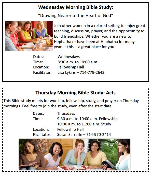 15 Ladies Bible Study