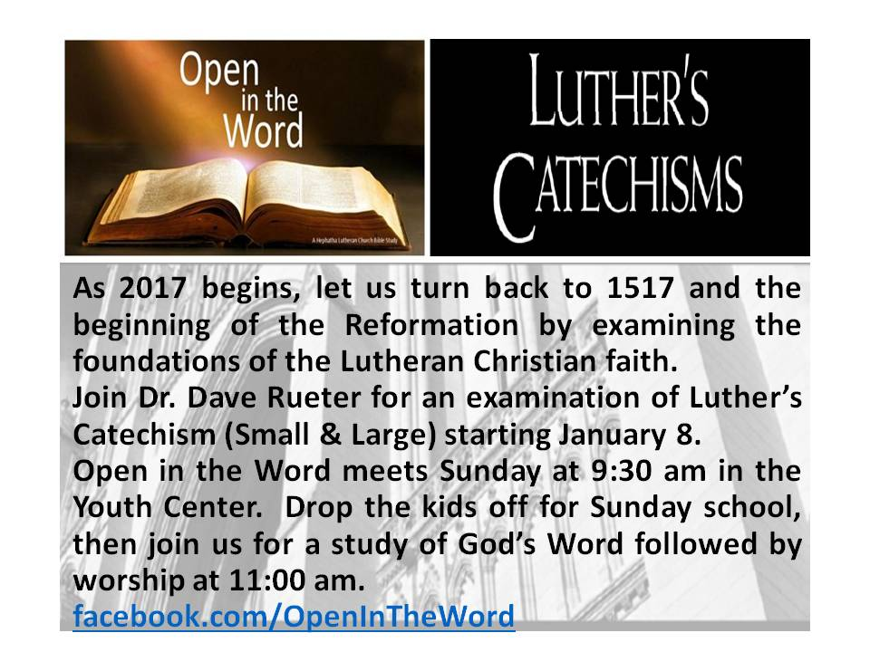 open-in-the-word-luthers-catechisms